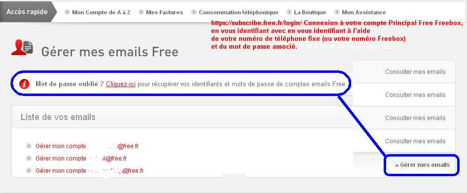 Creer Une Adresse Mail Et Sa Page Perso Chez Free Fr Abc Astuces