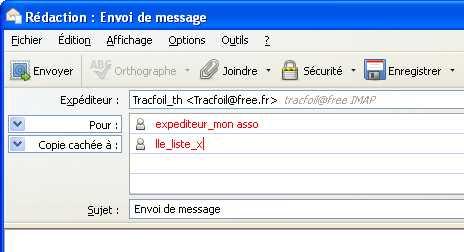 comment envoyer un mail avec free