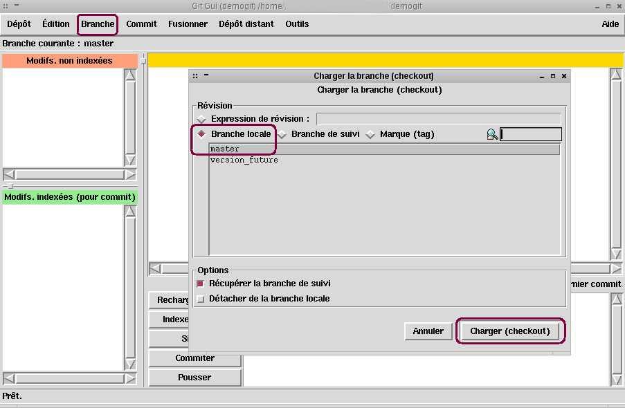 Utliser Git Gui sous Linux - abC, Astuces bonnes Choses
