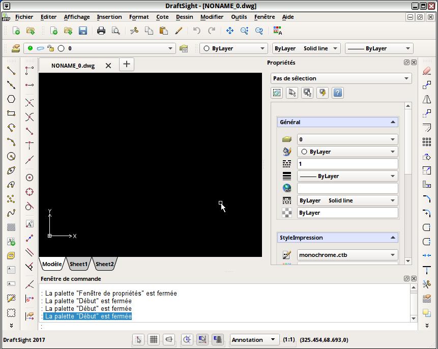 Installer DraftSight (CAO) sur Debian 8 / Réaliser votre site
